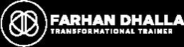 Farhan Dhalla Logo white